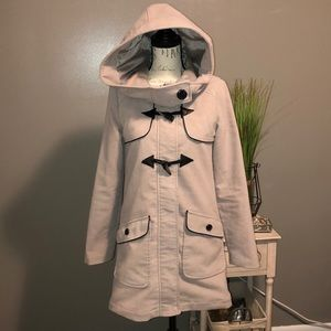 Jack Tan/Beige Double Breasted Fall Coat S